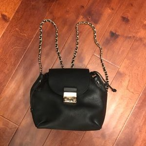 ZARA genuine leather backpack